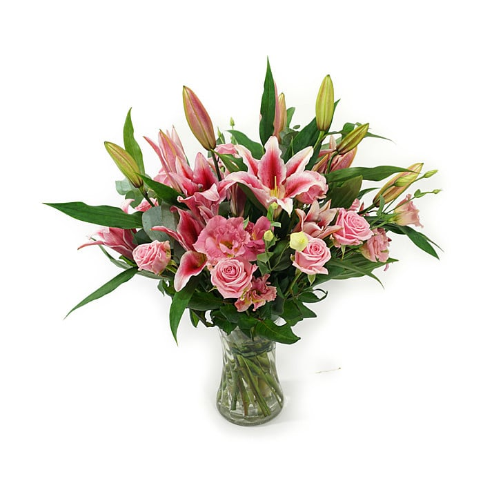 Pink Lady Lollipop Flowers Free Delivery In Dublin